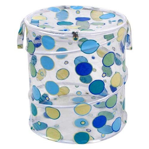 o Dots, Blue/Green (Bath Pop Up Hamper)