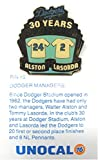 1 Pin - Walt Alston Tommy Lasorda Managers - Los Angeles Dodgers Unocal 76 Pin