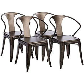 Exceptional Tabouret Stacking Chair (Set Of 4). This Set Of Dining Room Chairs Is