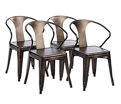 Tabouret Stacking Chair (Set Of 4). This Set Of Dining Room Chairs Is