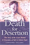 Death for Desertion, Leonard Sellers, 0850529778