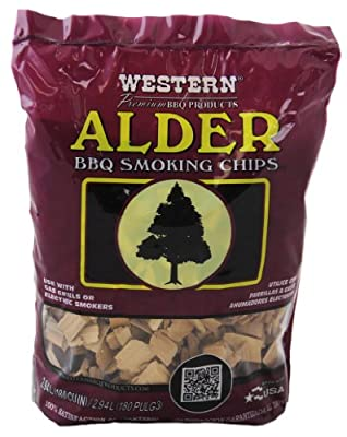 WESTERN 28068 Alder BBQ Smoker Chips by WW Wood inc