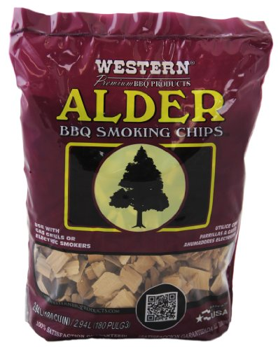 WESTERN 28068 Alder BBQ Smoker Chips (Outdoor Furniture Western)