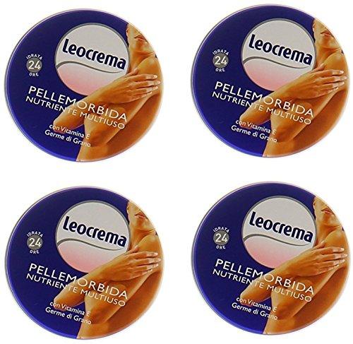 Leocrema: Pelle Morbida ml.50 - Pack of 4 [ Italian Import ]