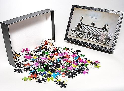 Photo Jigsaw Puzzle of Locomotive luggage engine