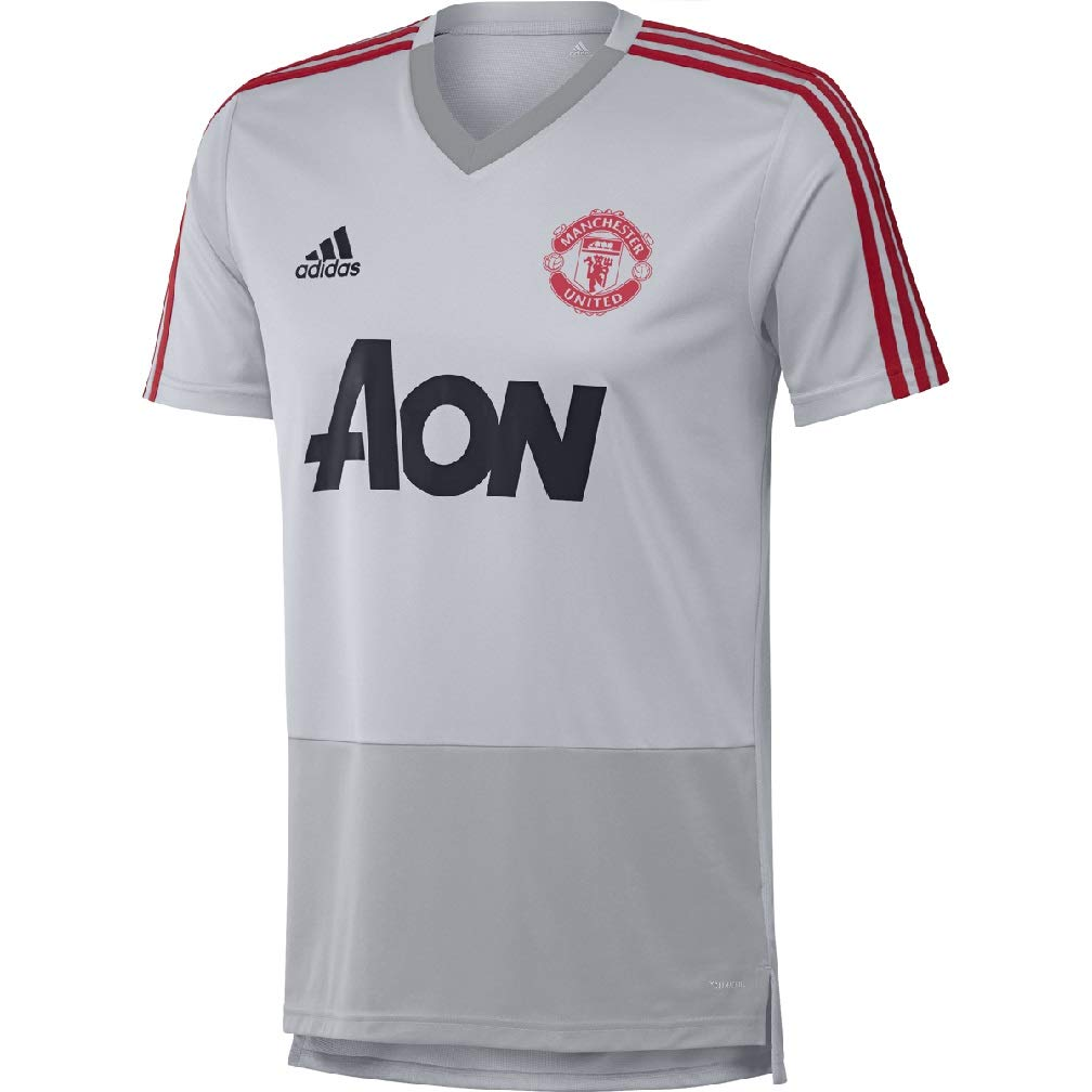 adidas Mens Manchester United Training Jersey 2018//2019