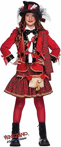 Deluxe Italian Made Baby & Older Girls 5 Piece Deluxe Baby Tartan Scottish Bagpipe Player Pageant Carnival Halloween Fancy Dress Costume Outfit 0-11 Years (5 Years) -