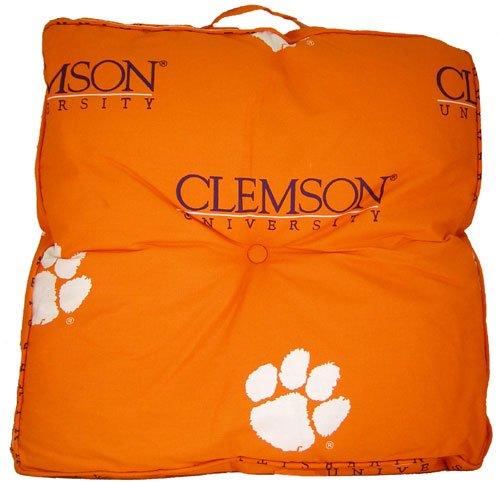 College Covers Clemson Tigers Floor Pillow