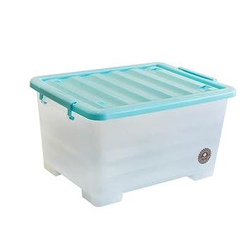 Ljshu Aufbewahrungsbox Plastikbox Mit Deckel Grosse Verdickungs