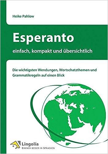 Esperanto einfach kompakt übersichtlich
