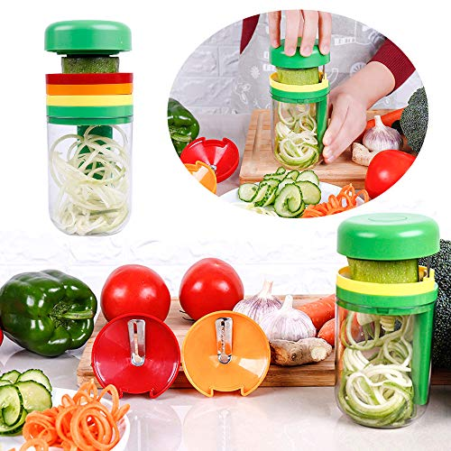 Longay Spiral Vegetable Fruit Slicer Cutter Grater Twister Peeler Kitchen Gadgets Tools from Longay