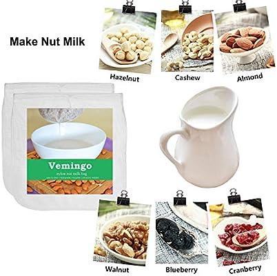 Vemingo - Bolso de leche con forma de tuerca de 30,48 x 30,48 cm ...