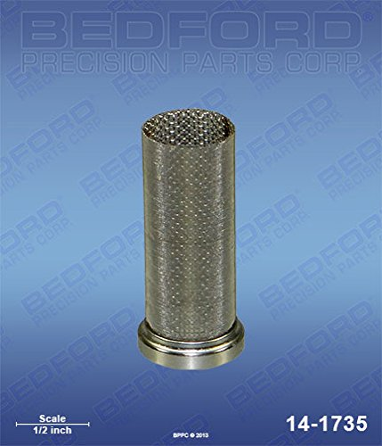 Bedford Precision Aftermarket Replacement for the BINKS 83-2405 Bedford Precision 14-1735 Bedford 14-1735 Filter Element, 150 Mesh