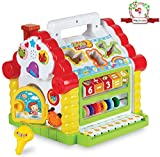 Magicwand Musical Learning House for Toddlers with Lights & Sound