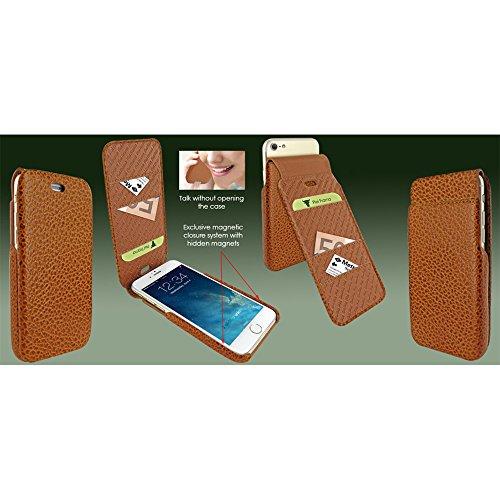 """Piel Frama """"iMagnum Leder Cover Fall für Apple iPhone 7–Tan iForte Kuhleder"""