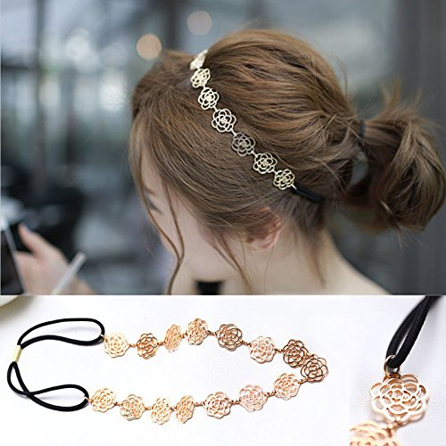 Elegant Hair Accessories Headband Metal Chain