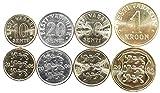 Estonia 4 Coins Set 1991 UNC SENTI Collectible