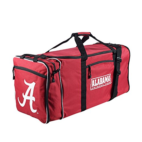 The Northwest Company Officially Licensed NCAA Alabama Crimson Tide Steal Duffel Bag Alabama Crimson Tide Nylon Backpack