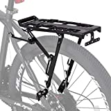 Hiland Bicycle Rear Cargo Rack Aluminum Adjustable for 22-29 inch Mountain Road Hybrid Commuter City Disc-Brake Bikes