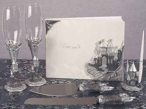 Platinum Castle Collection Wedding Accessories Set C17610 Quantity of 1