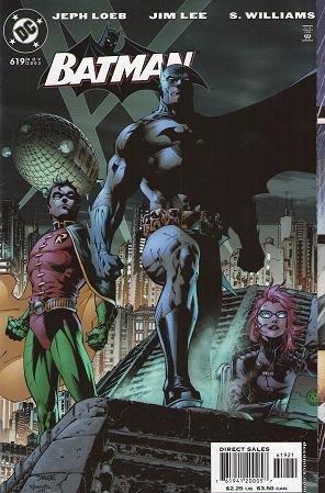 Batman Lee Jim Art (Batman #619 Jim Lee Hush)
