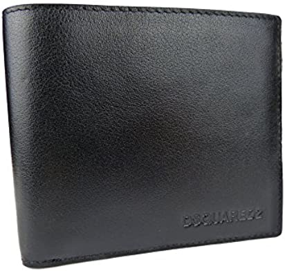 e5bd04c7b2f DSQUARED2 Men Dante Billfold Designer Leather Wallet - W16WA40080152124 -  Dsquared Bifold Wallets For Men Made