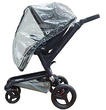 Protección contra la lluvia-diseño de lazo y brillantes de ajuste de paseo con protector