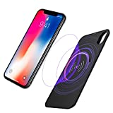 GreatCool iPhone X Battery Case with Qi Wireless Charging, Supports Separation of Case and Battery, 5000mAh Rechargeable Extended Portable Power Battery Pack Protective Charging Case for iPhone X