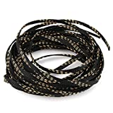 10M 6mm 5 Color Insulated Cable Sleeves Wire Gland Protection Tight PET Expandable Spiral Wrapping Braided Sleeveing