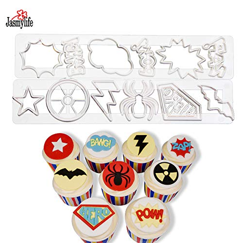 Sugarcraft 3PCS Baby Cot Set Cookie Cutter Plastic Baby Bed Crib Fondant Cutter Biscuit Cake Embossed Mold Cake Decorating Tools]()