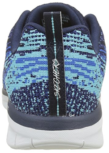 Blue Navy Synergy Donna Spirits High Sneaker 2 0 Blu Skechers pxadz88