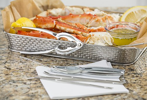 Tablecraft h76984 8 piece seafood set buy online in uae for Kitchen craft cookware reviews