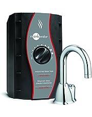InSinkErator H-HOT100 Push Button Instant Hot Water Dispenser System, Chrome