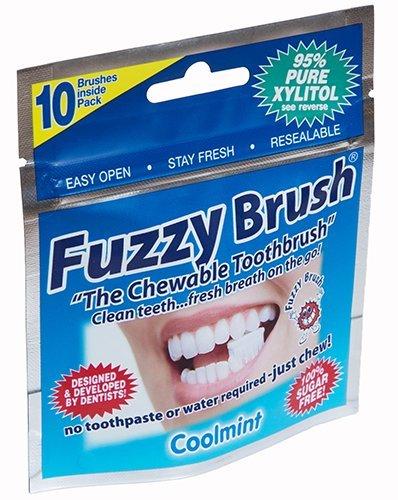 Fuzzy Brush Chewable Toothbrush 10