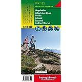 Freytag Berndt Wanderkarten, WK 152, Mayrhofen - Zillertaler Alpen - Gerlos - Krimml - Tuxertal - Zell im Zillertal - Maßstab 1:50.000