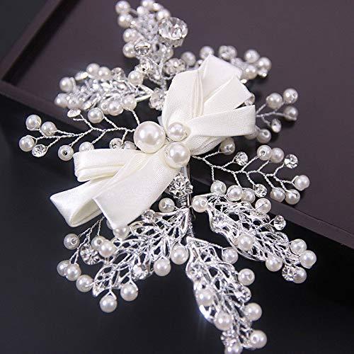 Wedding Bridal Jewelry Butterfly Hair Clips Headdress Hair Pin Handmade ()