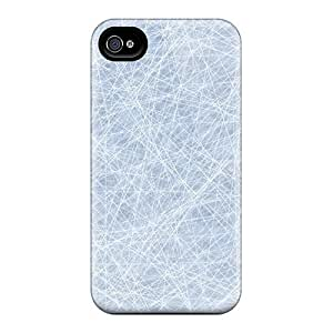 Mycase88 Iphone 6 Well-designed Hard Cases Covers Network Lines Light Blue Texture Protector