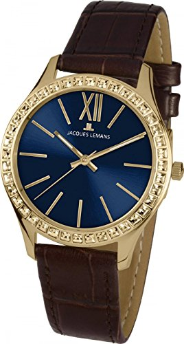 Jacques Lemans ROME 1-1841ZA Wristwatch for women With Swarovski crystals