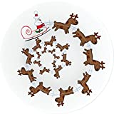 Alessi ''Christmas Spiral'' Christmas Plate For Cookies And Cakes In Decorated Porcelain