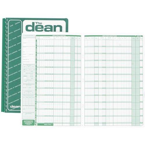 Dean & Fils DEA80008 Eight Employees Payroll Book-1 Each S.P. Richards CA