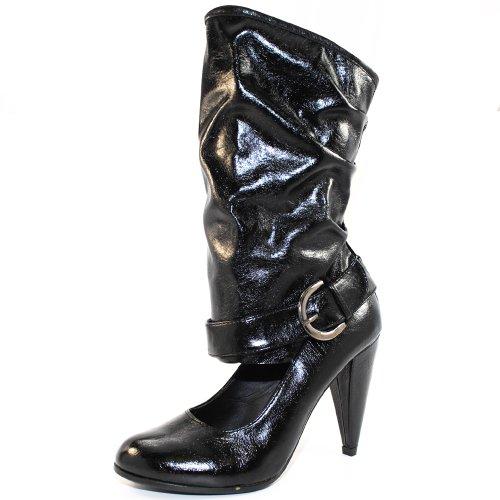 Lilianna Tusk Womens Closed Toes Pump Black KWwhAoX