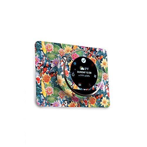 MightySkins Skin for Nest Thermostat - Koi Pond | Protective, Durable, and Unique Vinyl Decal wrap Cover | Easy to Apply, Remove, and Change Styles | Made in The USA