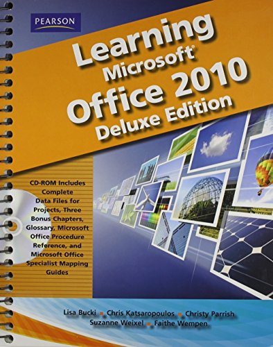 Learning Microsoft Office 2010 Deluxe Editions (Hard Cover) -- CTE/School