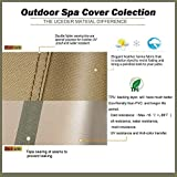 pool spa part Round Hot Tub Outdoor Cover Heavy