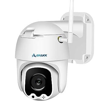 Amazon.com: Anakk Cámara de seguridad inalámbrica WiFi 1080P ...