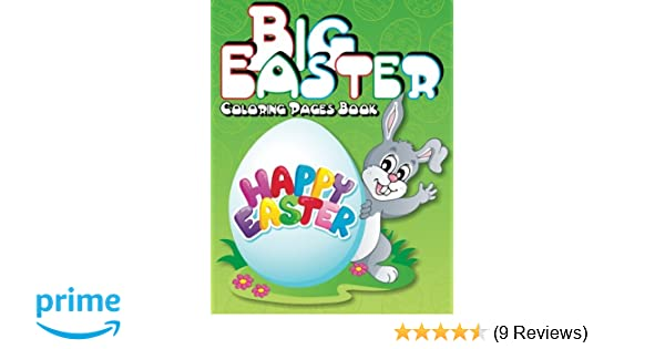Big Easter Coloring Pages Book Super Fun Books For Kids Volume 15 Lilt 9781500507275 Amazon