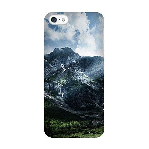 artboxONE Premium-Handyhülle iPhone 5C Lichteinfall - Natur - Smartphone Case mit Kunstdruck hochwertiges Handycover kreatives Design Cover von Mirko