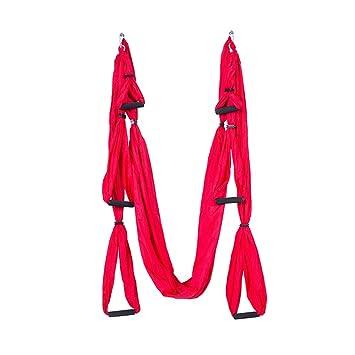 Yoga Hamaca Aerial Anti Gravity bambolearse colgante toalla ...