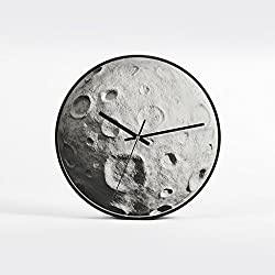 Wall Clock Wall Clock/Living Room Modern American Silent Wall Clock Home Decoration Quartz Watch Clock (Color : 2)