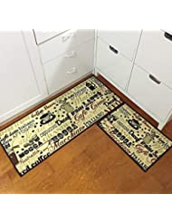 Amazon Com Orange Kitchen Rugs Kitchen Table Linens Home